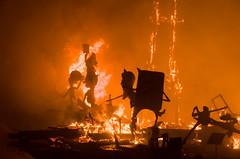 Fallas 2015 burning (Phil Blackburn) Tags: valencia festival fire spain fiesta smoke events flames burning heat espania fallas cremà