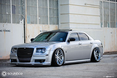 f531-brushed-polished-chrysler-300c-sidefront (AvantGardeWheels) Tags: photography 22 inch suspension air wheels profile deep step chrome lip chrysler 300c function avant garde forged polished concave brushed forging plated soulstice staggered spec2 accuair f531 agwheels agfunction