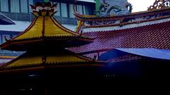 Vihara Bag. Depan (AGUSRAHARJO) Tags: pray jakarta dharma imlek vihara kuil bhakti ibadah sakti sembahyang berdoa
