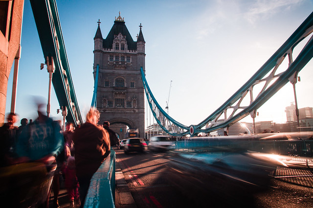 Tower Bridge Traffic III