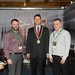 Showtel Charlie Fearon & Liam McDonagh, Castlebrook Furniture and Stephen McNally, IHF President