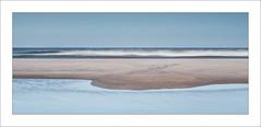 Serenity II (Frank Hoogeboom) Tags: sea holland color art beach water netherlands clouds island vlieland wadden sand long exposure graphic fine minimalism minimalistic waddensea