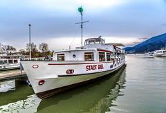 Bateau/Shift (Ademirbispo) Tags: port nikon barco shift sigma porto stadt nublado bateau navio biel d600 bienne 2470