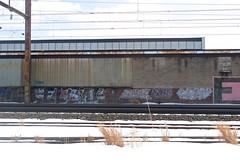 Elbo, June, Proze (NJphotograffer) Tags: new railroad june graffiti nj rail jersey pro styles vs graff tod vicious trenton trackside elbo proze