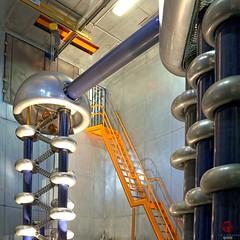 Cockroft-Walton, Fermilab (Mark Kaletka) Tags: particle fermilab accelerator proton fermi hydrogen highvoltage particlephysics particleaccelerator highenergyphysics cockroftwalton protonaccelerator
