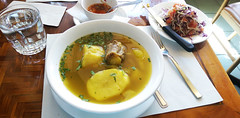 Mi Tierra - the sancocho (Michael K N) Tags: food toronto mitierra empanada sancocho