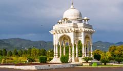 Baradari in Full Spring (mushtaqjams) Tags: park pakistan islamabad f9park