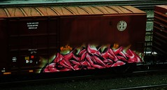 paser (timetomakethepasta) Tags: train graffiti boxcar freight bnsf mfk paser
