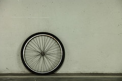 One (Daniel Kulinski) Tags: bike bicycle wheel wall circle photography one europe image daniel garage creative picture samsung poland tire ring 60mm 1977 circular tyre photograhy pl nx pruszkw mazowieckie nx1 kulinski samsungnx samsungimaging nx60mm danielkulinski samsungnx60mmf28 samsungnx60mm samsungnx1 nx60mmf28