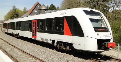 Abellio - Diesel motor unit N° 628 008.