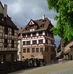 Albrecht Drer's House, Nrnberg (langkawi) Tags: house germany deutschland nuremberg haus nrnberg fachwerk albrechtdrer