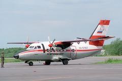RA-67657 LET L-410UVP-E Turbolet Aeroflot (pslg05896) Tags: russia let aeroflot arh archangelsk turbolet ulaa l410uvpe talagiairport ra67657
