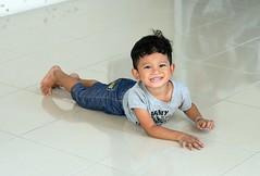 boy on the floor (the foreign photographer - ) Tags: boy portraits tile thailand nikon floor bangkok handsome lard bang bua khlong bangkhen d3200 phrao may212016nikon