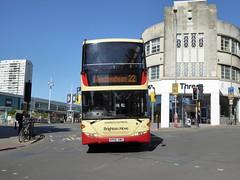 Brighton & Hove 716 YP09 HWC Charles Cutress on 22 (sambuses) Tags: brightonhove 716 goaheadgroup yp09hwc charlescutress