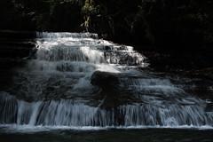 further up the inohae (l e o j) Tags: water japan canon river flow eos rebel waterfall kiss running valley miyazaki ravine gorge xsi    x2    nichinan  keikoku 450d inohae