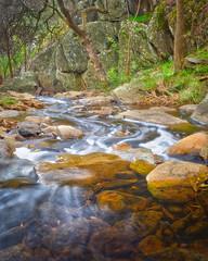 Water swirls.jpg (sfowlerphotos) Tags: longexposure autumn water landscape fuji adelaide 14mm xt1 sturtriver