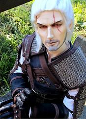 IOS Jade aka Torak as Geralt (Sakura-Streifchen) Tags: doll sd bjd abjd balljointed balljointeddoll cosplaydoll geralt amahtalafaceups amahtalacreations sweetypiecreations asiaballjointed thewitcherwildhunt rangvardress