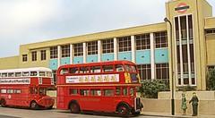 NS North Street bus garage (kingsway john) Tags: bus london scale garage transport models card kit rt kingsway 176 oogauge