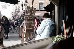 BEHIND THE WINDOW (lonewolf_studio) Tags: london window ventana photography pub chair streetphotography silla londres behind fotografia fotografiaurbana