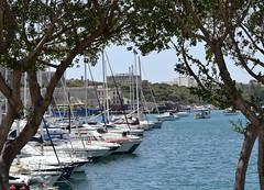 Ta' Xbiex Sea Front, Ta' Xbiex (RobJH82) Tags: sea summer sun hot island europe mediterranean malta heat taxbiex