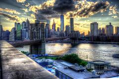 Brooklyn Bridge seen from DUMBO (Diacritical) Tags: nyc bridge brooklyn iso200 manhattan dumbo brooklynbridge eastriver 35 f95 hdr 0ev tolkin summiluxm11435asph centerweightedaverage leicacameraag sec secatf95 leicamtyp240 douglascpalmer2014 ednyretirement june222016