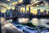Brooklyn Bridge seen from DUMBO (Diacritical) Tags: nyc bridge brooklyn iso200 manhattan dumbo brooklynbridge eastriver 35 f95 hdr 0ev tolkin summiluxm11435asph centerweightedaverage leicacameraag ¹⁄₂₅₀sec ¹⁄₂₅₀secatf95 leicamtyp240 douglascpalmer2014 ednyretirement june222016