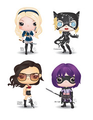 Pop! Girl Power (CBeeProject) Tags: movie movies batman fight bad action flick