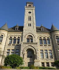 Old Waukesha County Courthouse Detail (Waukesha, Wisconsin) (courthouselover) Tags: wisconsin waukesha wi waukeshacounty courthouseextras robertgkirschjr milwaukeemetropolitanarea