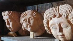 stony faced