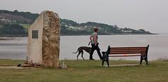 Battery Point Portishead June 2016 4 (Bristol Viewfinder) Tags: greyhound lighthouse dogs sailing portishead somerset hero mna avonmouth batterypoint portbury monnument merchantnavyassociation