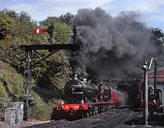 A smokey departure. (thrimby2002) Tags: grosmont nymr q6 2238