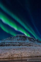 6.Aurora Borealis Eskifjordur_6 ( / ELIX) Tags: volunteering 2016    elixconservationvolunteersgreece