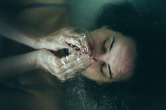 Submerging Thoughts (Laura Callsen) Tags: water vintage air under bubbles submerging vsco