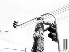 SEMAFORO (otra-formade-ver) Tags: streetphotography bn duotono documentalismo