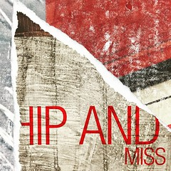 Hip and Miss (vapour trail) Tags: poster advertisment paper torn graphics artwork london tube station tower hill underground travel transport hub