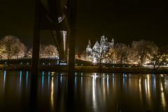 Brcke (martinwink62) Tags: wasser reflexion nachtaufnahme ingolstadt bavaria schloss brcke infrarot infrared