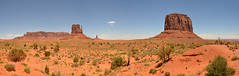 Monument Valley panorama (Guerric) Tags: arizona panorama usa panoramic monumentvalley navajotribalpark