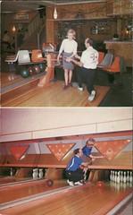 Pro Bowl Lanes & Pro Shop, Hamilton, Ontario (SwellMap) Tags: architecture vintage advertising design pc 60s fifties postcard suburbia style kitsch retro nostalgia chrome americana 50s roadside googie populuxe sixties babyboomer consumer coldwar midcentury spaceage atomicage