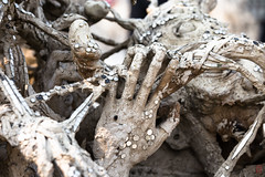 Entre de bonnes mains (Ye-Zu) Tags: chiangrai temple thailande watrongkhum worldtour blanc hand main penis phallus white tambonpaodonchai changwatchiangrai thalande