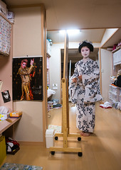 16 Years old maiko called chikasaya in her room, Kansai region, Kyoto, Japan (Eric Lafforgue) Tags: woman white beautiful beauty face japan vertical female hair asian japanese clothing eyes kyoto colorful asia pretty feminine painted young culture makeup front grace indoors teen maiko geisha teenager kimono gion tradition fullframe oriental youngadult solitary hairstyle youngwoman apprentice sparse oneperson elaborate kanzashi lookingatcamera 1617years oneyoungwomanonly 1people kansairegion japaneseethnicity colourpicture chikasaya japan161698 komayaokiya