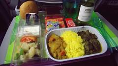 Economy Class In-flight Meal - Qatar Airways (Matt@PEK) Tags: economyclass oneworld inflightmeal qatarairways