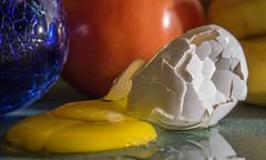 OOPS!      1Z9A1705 (DCLbyrdnyrd) Tags: stilllife food egg cracks