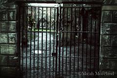 Greyfriars Kirkyard (micahmoreland) Tags: uk cold abandoned graveyard dark scotland gate edinburgh iron gloomy spirit cemetary ghost evil haunted creepy demon haunting locked entity