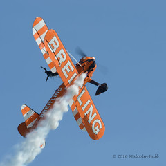 Wing Walkers - Airbourne (1265) (Malcolm Bull) Tags: include airbourne eastbourne airshow 20160813airbourne1265edited1web breitling wing wingwalkers wingwalker walker walkers