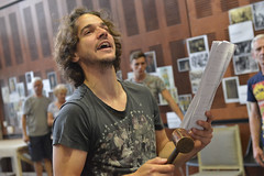 Joseph Timms plays Carton (TheatreCloud) Tags: a tale two cities charles dickens twocitiestour uk theatre tour 2018 play adaptation rehearsals rehearsal shots first look james dacre