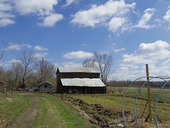 Clouds and Barn