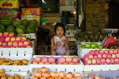 Fuit vendor (RM Ampongan) Tags: life street city people photography philippines human sur activity region coloured bicol wetmarket vendors irigacity camarines iriga fuitsandvegtablevendors