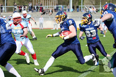 "RFL15 Assindia Cardinals vs. Bonn GameCocks 12.04.2015 070.jpg • <a style=""font-size:0.8em;"" href=""http://www.flickr.com/photos/64442770@N03/16503419094/"" target=""_blank"">View on Flickr</a>"