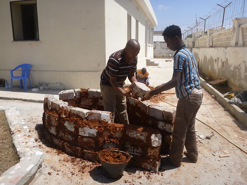 Cookswell Jikos training of SME cookstove manufacturers in Mogadishu Feb. 2015