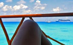 High noon at Tahitianprincess Hotel KIAORA Tahiti Rangiroa (sapphire_rouge) Tags: france kiaora lagoon resort atoll rangiroa polynesia snorkeling  tahiti franchpolynesia    atool polynsiefranaise  island